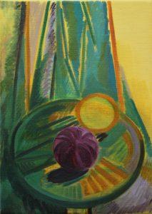 Kiera Bennett | Onion | 2011 | Oil on linen | 35x25cm