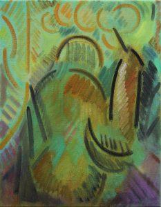 Kiera Bennett   Painting (Jumper)   2013   Oil on canvas   45x35cm