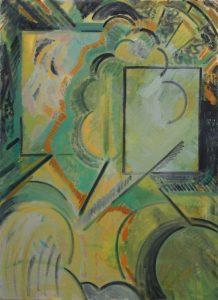 Kiera Bennett   Trance   2013   Oil on canvas   90x65cm