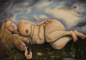 Rachel Blackwell | Intersomnious Journey | 2011 | Oil on canvas | 70x100cm