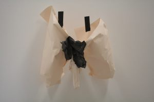 Ralph Brealey | Cock | 2013 | Paper, duct tape, staples | 64x70x42cm | (1280×853)