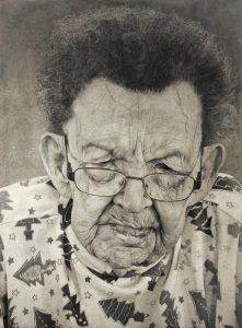 Jelena Bulajic | Audrie | 2012 | Mixed media on canvas | 270x200cm