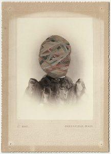 Tom Butler | Bau | 2012 | Gouache on Albumen print | 16.5×10.5cm