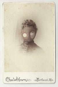 Tom Butler | Casco | 2013 | Gouache on Albumen print | 16.5×10.5cm