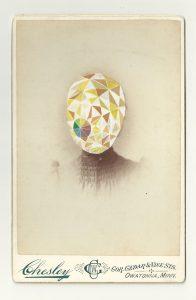 Tom Butler | Chesley | 2013 | Gouache on Albumen print | 16.5×10.5cm