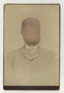 Tom Butler | Clip | 2013 | Gouache on Albumen print | 16.5×10.5cm
