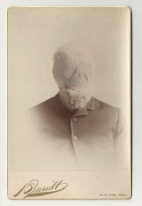 Tom Butler | Darritt | 2013 | Gouache on Albumen print | 16.5×10.5cm
