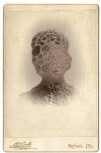 Tom Butler | Elfa | 2013 | Gouache on Albumen print | 16.5×10.5cm