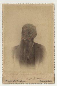 Tom Butler | Field | 2013 | Gouache on Albumen print | 16.5×10.5cm