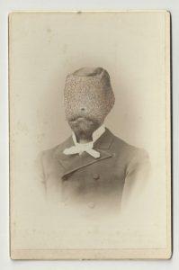 Tom Butler | Griff | 2012 | Gouache on Albumen print | 16.5×10.5cm
