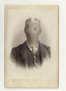 Tom Butler | JJG | 2013 | Gouache on Albumen print | 16.5×10.5cm
