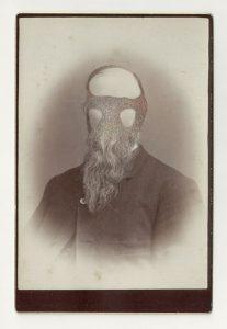 Tom Butler | Morris | 2013 | Gouache on Albumen print | 16.5×10.5cm