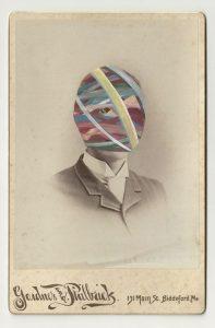 Tom Butler | Philbuck | 2013 | Gouache on Albumen print | 16.5×10.5cm