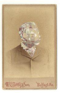 Tom Butler | Tett | 2013 | Gouache on Albumen print | 16.5×10.5cm