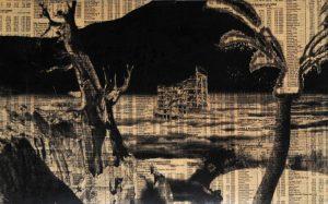 Gordon Cheung   Sleepwalker   2004   Mixed media on paper   19.5×28.5cm