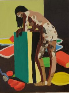 Jake Clarke | The Perfect Nude | 2011 | Oil on board | 40x30cm
