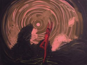 Dan Coombs | Vortex | 2008 | Oil on Canvas | 90x121cm