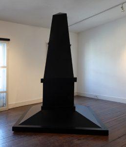 Harold De Bree | Untitled | 2014 | Wood, aluminium composite | 286x190x190cm