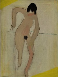 Andrew Graves | Nude | 2012 | Oil on panel | 30x40cm