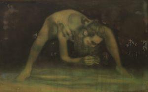 Derek Harris | Re rite os Spring (after Maurice Bejart) | 2011 | Acrylic on canvas | 101.5x122cm
