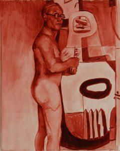 Sam Herbert | Sans Souci | 2011 | Oil on canvas | 50x40cm
