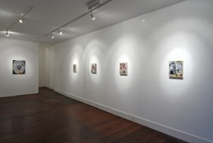 Lucifer Rising | Dominic Shepherd | CHARLIE SMITH LONDON | Installation View (3) | 2010
