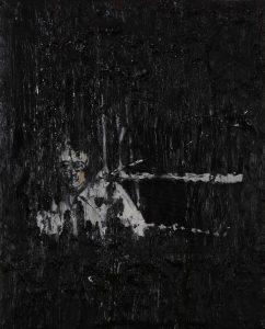 Luke Jackson   Mining   2012   Oil & mixed media on canvas   20x16cm
