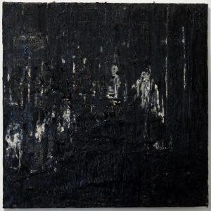 Luke Jackson   The Arrow Continent   2012   Oil & mixed media on canvas   42x41cm
