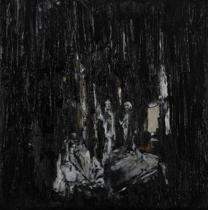 Luke Jackson   The Time Index   2012   Oil & mixed media on canvas   21×20.5cm