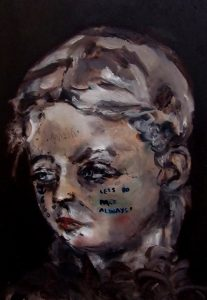 Sam Jackson   A Memory of You   2013   Oil on board   29x20cm