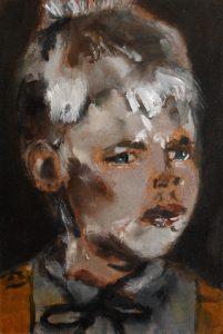 Sam Jackson   Colossal Youth   2014   Oil on board   16×10.5cm