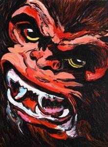James Jessop   Kong!   2011   Oil & Acrylic on canvas   40x30cm