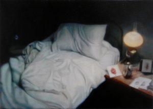 Andrew Leventis   The Dreaming   2012   Oil on linen   22x35cm   (1280×912)