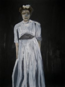 Cathy Lomax   White 10   2010   Oil & acrylic on paper   40.5×29.5cm