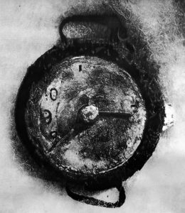 Eric Manigaud   August 6th, 1945, 15 past 8   2013   Pencil & graphite powder on paper   180x155cm