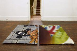 Nigel Massey | The Ecstasy of Golden Retriever | 2013 | Jacquard tapestry | 152x122cm