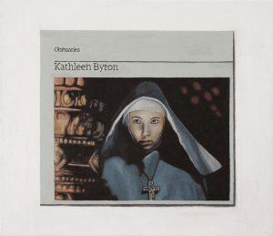 Hugh Mendes   Kathleen Byron   2009 Oil on linen   30x35cm