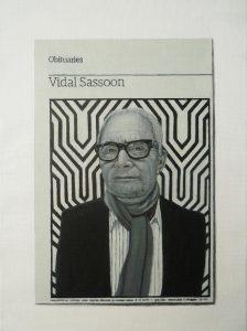 Hugh Mendes   Vidal Sassoon   2012   Oil on linen   35x25cm   (956×1280)