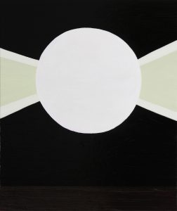Alex Gene Morrison | Beam | 2010 | Oil on linen | 65x55cm