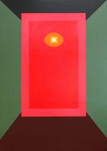 Alex Gene Morrison | Sentinel | 2010 | Oil on linen | 215x155cm