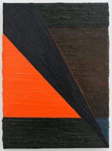Alex Gene Morrison | Split | 2011 | Oil on canvas | 40x30cm