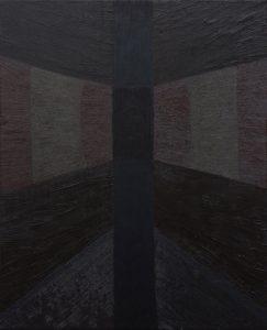 Alex Gene Morrison | Totem | 2011 | Oil on canvas | 55x45cm