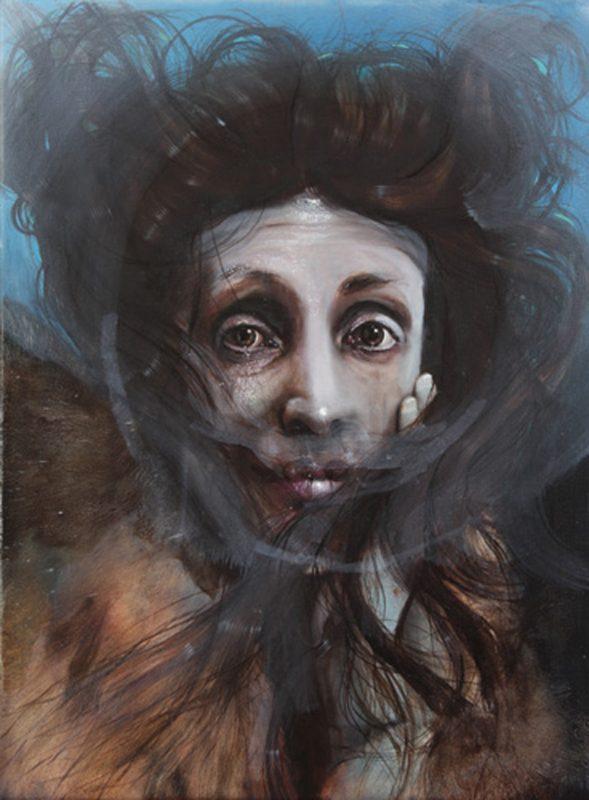 Gavin Nolan   Dreadnought   2010   Oil on canvas   41×30.5cm