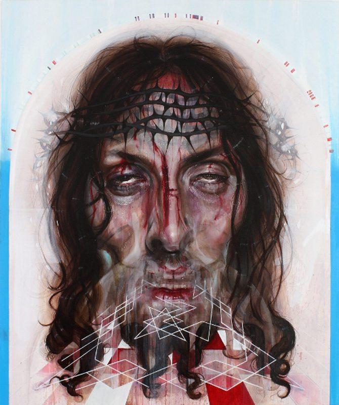 Gavin Nolan   King's Lead Hat   2010   Oil on canvas   184x154cm