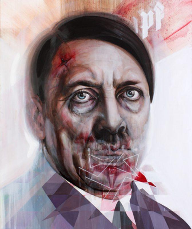 Gavin Nolan   Rhythm of Cruelty   2010   Oil on canvas   184x154cm