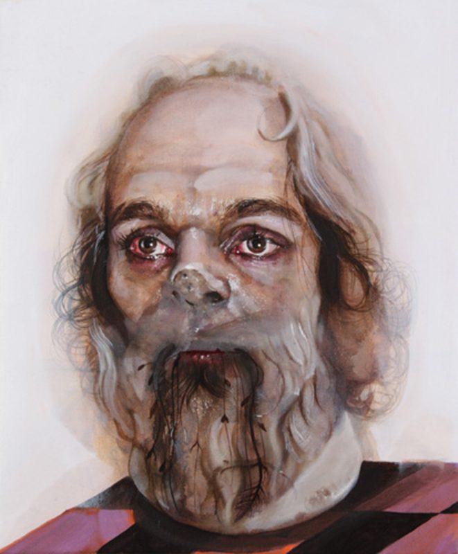 Gavin Nolan   Saviour Machine   2010   Oil on canvas   30.5×25.5cm