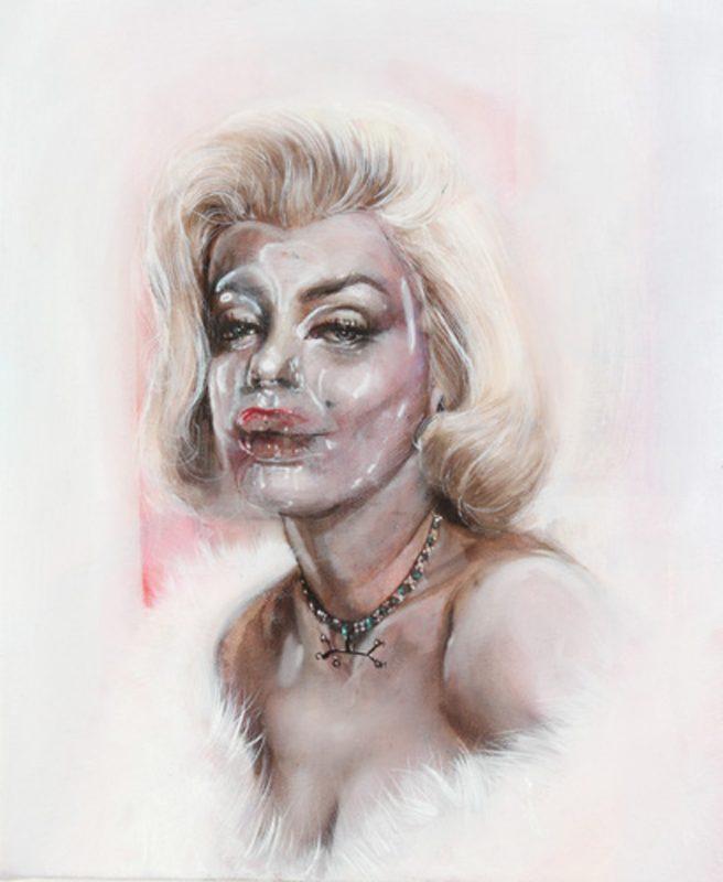 Gavin Nolan   Suicide Blonde   2010   Oil on canvas   31×25.5cm