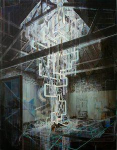 Tom Ormond | The New Light of Tomorrow | 2010 | Oil on linen | 238x183cm