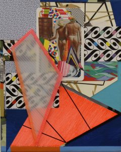 Danny Rolph | Brighton | 2011 | Mixed media on canvas | 25x20cm
