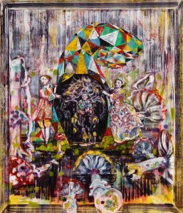 Dominic Shepherd | The Emperor | 2010 | Oil on canvas | 71x60cm